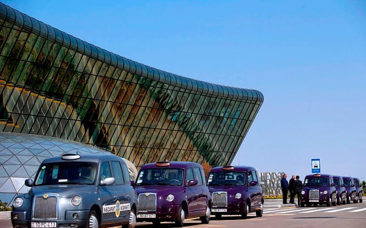Такси и трансфер из аэропорта Баку в центр города
