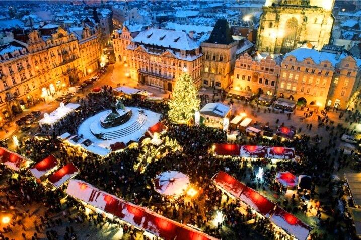 Отдых в Праге на Новый год
