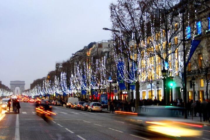 Париж на Новый год 2020