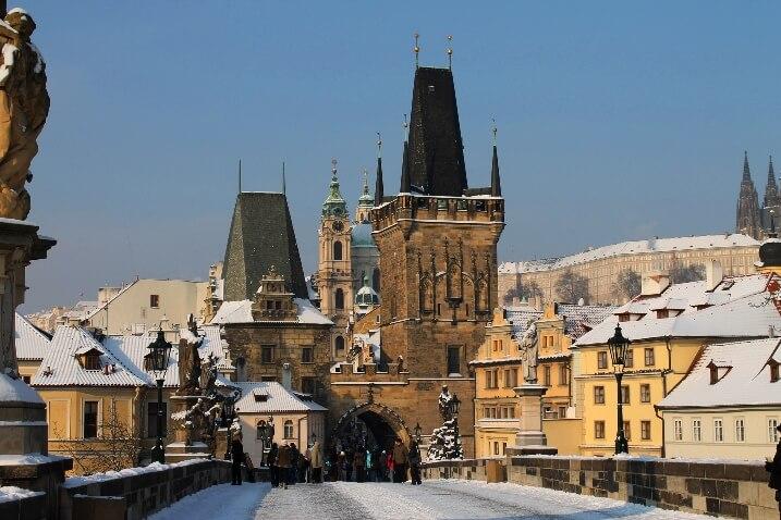 Погода в Праге на Новый год 2018