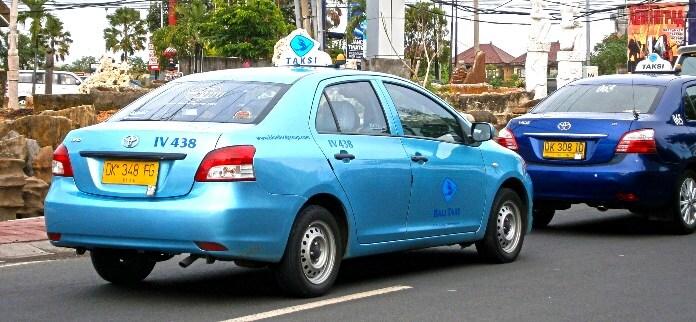 Такси на Бали из аэропорта