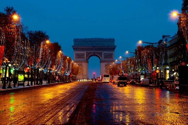 Тур в Париж на Новый год 2019