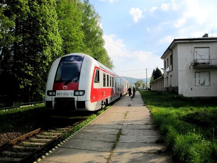 Поезд Братислава - Будапешт