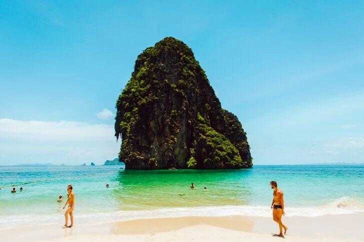 Морское побережье в Таиланде