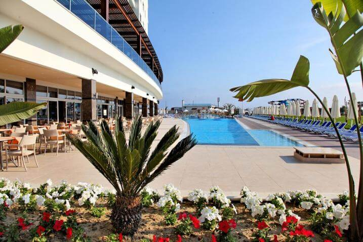 Отдых с детьми в Kahya Resort Aqua & Spa