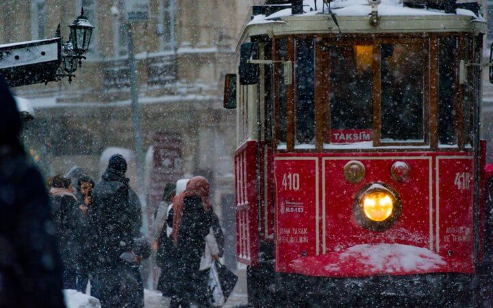 Поездка в Турцию зимой