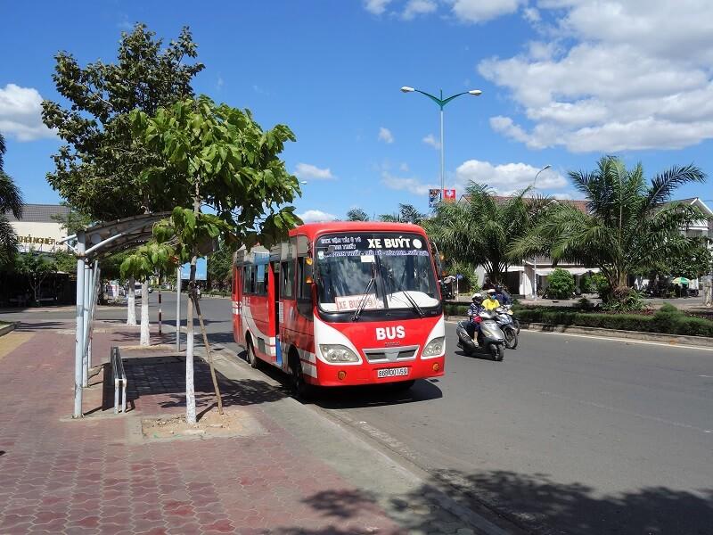 Транспорт в Муйне и Фантьете, Вьетнам
