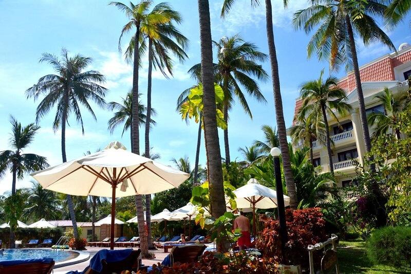 Один из отелей Муйне, Вьетнам