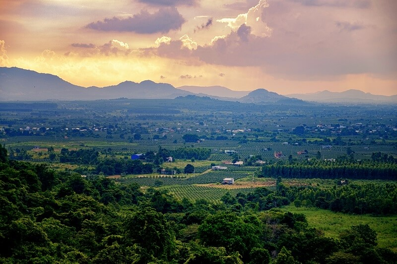 Гора Таку в Фантьете