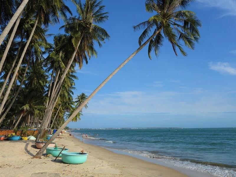 Пляж Хам Тьен в Муйне