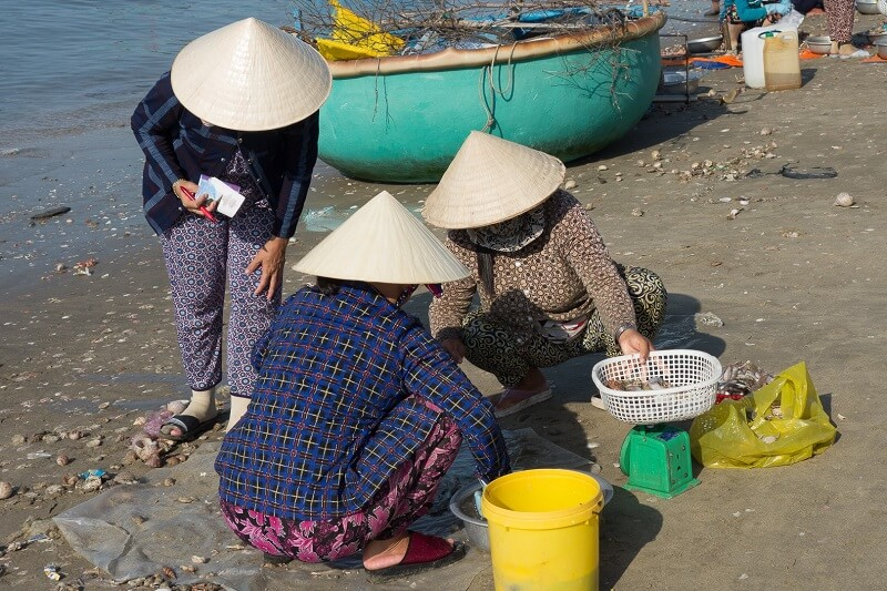 Рыбный рынок в Муйне