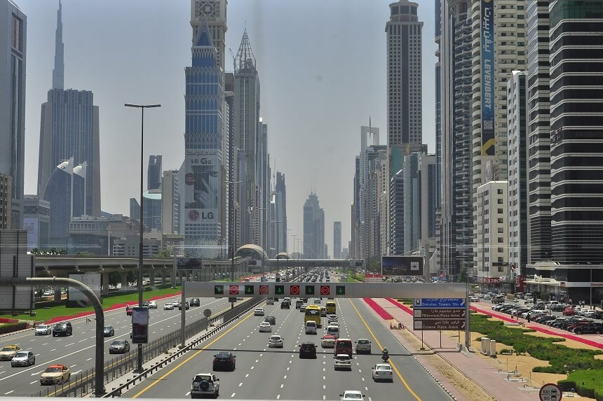 Шарджа - Дубай как добраться
