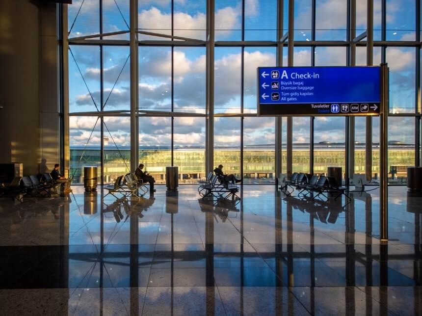 Как доехать до нового аэропорта Стамбула, Турция