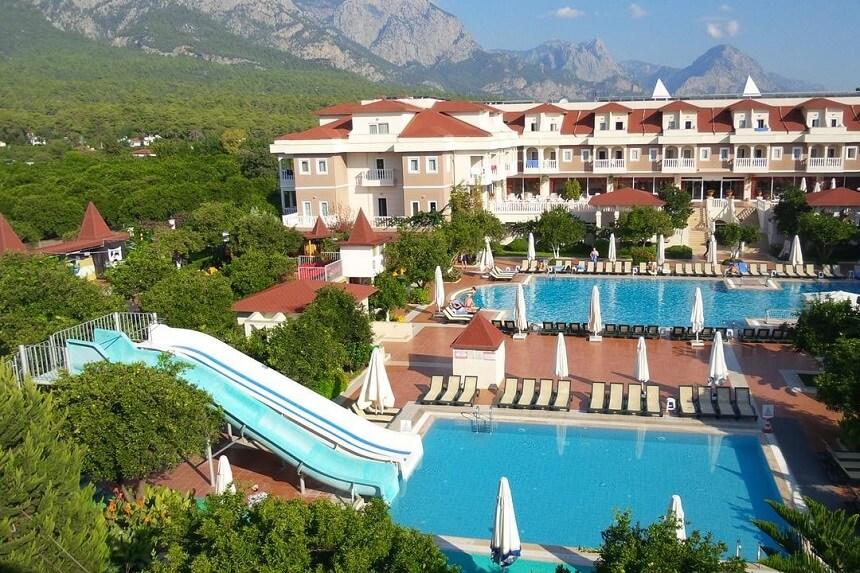 Отель Garden Resort Bergamot, Кемер, Турция
