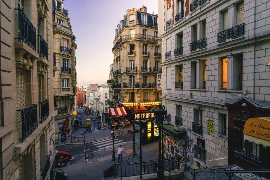 Экскурсии Парижа на русском языке (Монмартр)