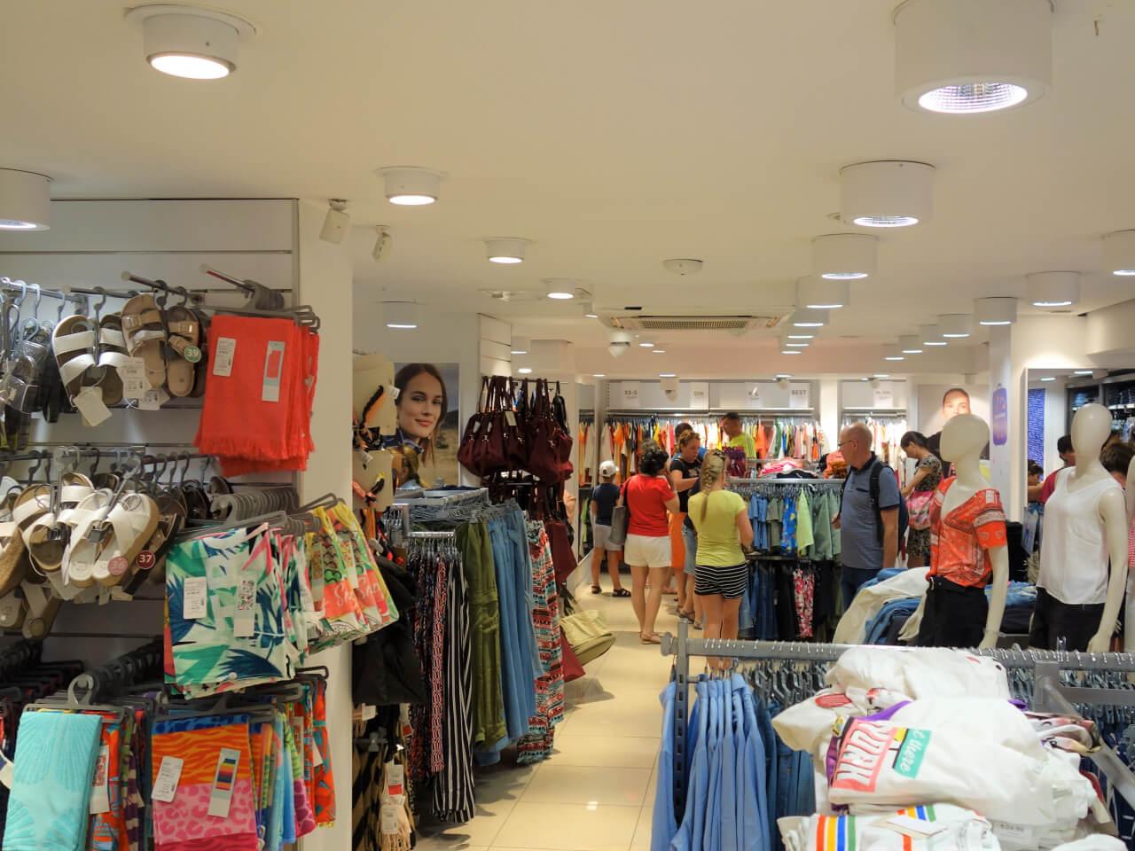 Сколько стоит одежда в Турции