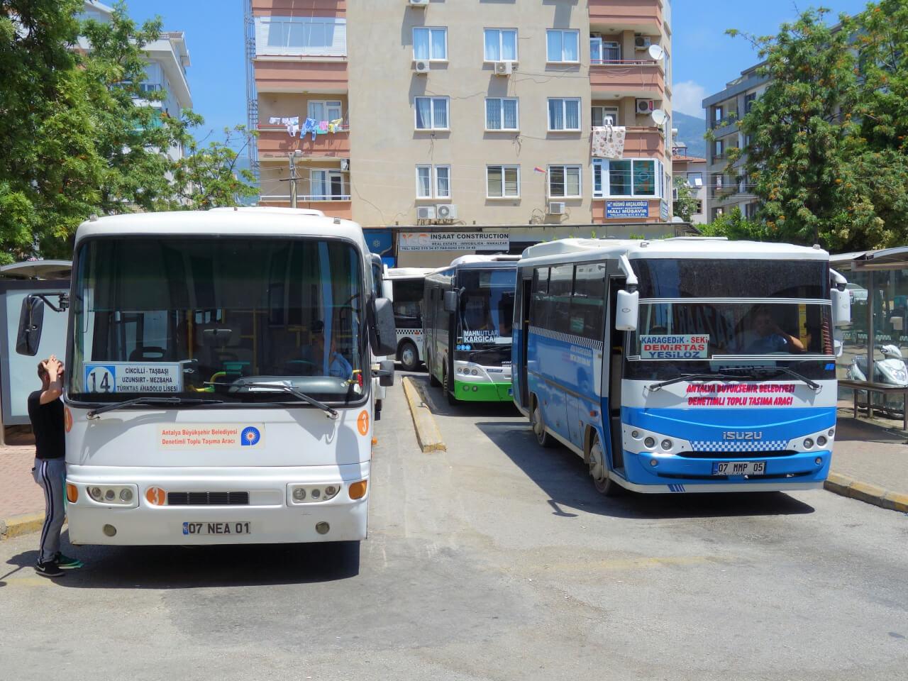 Стоимость транспорта в Турции